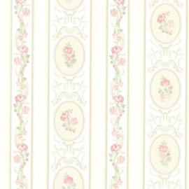 Engelse bloemen behang  claremont FD68746