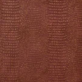 slanghuid rood goud behang 02286-50