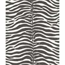 Zebraprint behang zwart wit xxx8