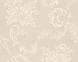 bloemen glitter behang 33867-6