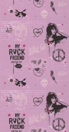 Noordwand Les Aventures 51140303 rock music tieners meisjes behang
