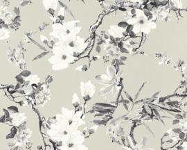 vogel behang bloemen 36498-3