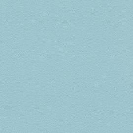 blauw uni vlies behang fijn struktuur 313345