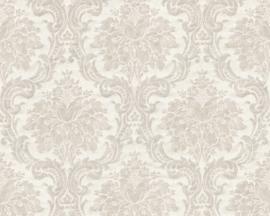 Barok behang grijs 36716-1