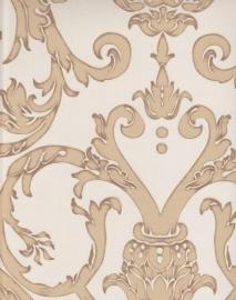 barok behang beige goud zx12