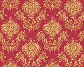 rood goud barok behang xxx35