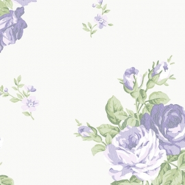 Norwall English Florals bloemen behang G34316