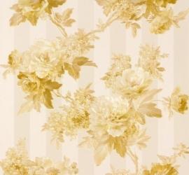 Romantica Bloemen creme goud 30446-5 AS Creation