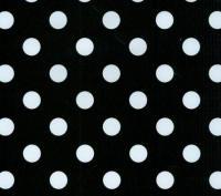 zwart wit tafelzeil 1037