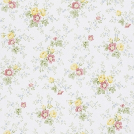Petite Fleur 3 engelse bloemetjes behang 285016