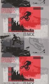 Noordwand Les Aventures 15080210 BMX fiets jongens behang