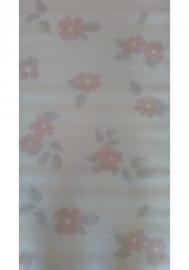 retro vlies behang rasch oranje bruin 471311