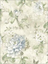 vintage bloemen behang 098838