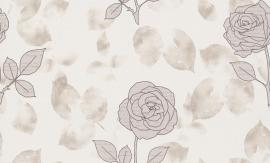 937473 La romantica beige bruin creme behang