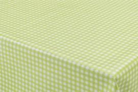 150-045 groen wit ruitjes tafelzeil