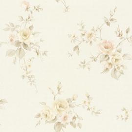 Engelse bloemen behang 37233-8
