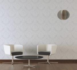 wit overschilderbaar behang barok 24371-3