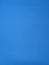 blauw effen uni behang