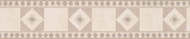 bruin behangrand retro ruiten 5599-20