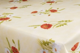 150-183 rood groen wit planten tafelzeil