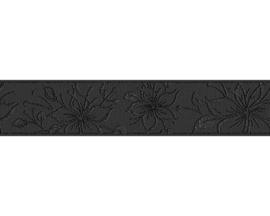 zwart behangrand metalic glitter 34661-2