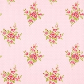 WhiteWell Boutique 550213 Roses Antique Pink