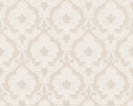 barok beige glim behang 76403-4