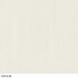 Uni Creme lijntjes Behang met glitter  13313-30