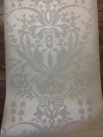Barok behang vintage taupe grijs 61521
