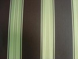 klassiek strepen glim behang goud bruin vinyl 88