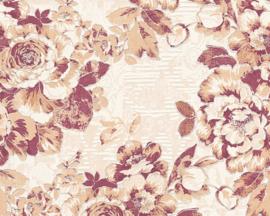 glitter behang bloemen 33864-5