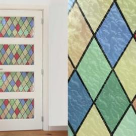 raamfolie ruiten zelfklevend raamdecoratie x28
