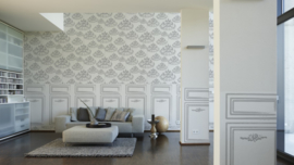 lambrisering behang panelen dubbelbreed 95238-1
