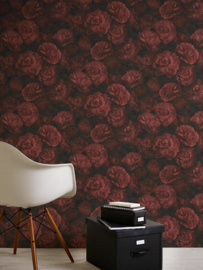 3D bloemen rozen behang xx458