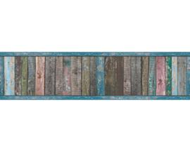 sloophout behangrand steigerhout kleur 36860-1