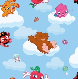 moshi monsters Behang 70-240 Kids@Home-Noordwand