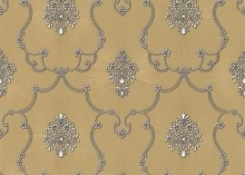 brons grijs klassiek hermitage behang 887245