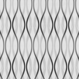 Behang Expresse Jewel retro zwart grijs