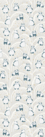 Eijffinger Mini Me Wallpower Panda Palm Sand 399121