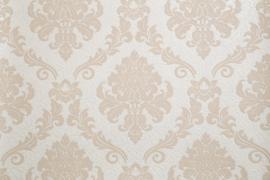 beige barok behang met glitter 1368-12