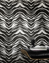 zebraprint zwart wit Rasch B.B Home Passion III 452709