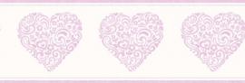 Dutch Carousel behangrand DLB50078 Hearts