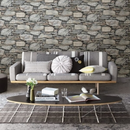 Dutch Reclaimed behang FD22304 Stacked Stones