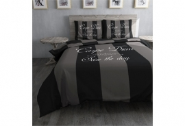 Dreamhouse Bedding DBO Carpe Diem Grey - Grijs