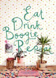 Eijffinger Rice 2 Wallpower 383617 Eat Drink Boogie Repeat