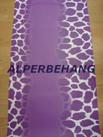 tijger paars panter luipaardprint vlies behang 00059