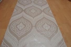 beige grijs arabica vinyl barok behang 17