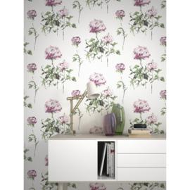 bloemen behang 801507