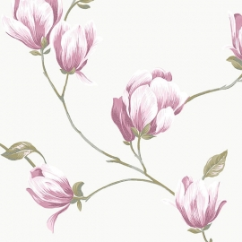 Norwall English Florals bloemen behang G34326