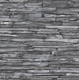 Dutch Reclaimed behang FD22352 Stacked Slate